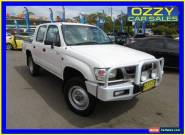 2003 Toyota Hilux LN167R (4x4) White Manual 5sp Manual 4x4 Dual Cab Pick-up for Sale