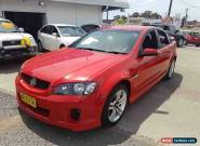 2006 Holden Commodore VE SV6 Red Automatic 5sp A Sedan for Sale