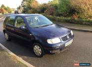 VW Polo 1.4 5 door MOT Cheap Good Car No Reserve for Sale