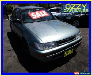 Classic 1999 Toyota Corolla AE101R CSi Green Automatic 4sp A Sedan for Sale