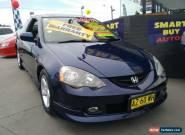 2002 Honda Integra 4TH GEN Blue Semi-Automatic 5sp Sequential Auto Coupe for Sale