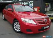 2011 Toyota Camry ACV40R 09 Upgrade Altise Red Automatic 5sp Automatic Sedan for Sale