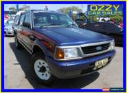 1998 Ford Courier PD XL (4x4) Blue Manual 5sp M Crewcab for Sale