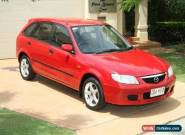 2002 Mazda 323 BJ II Astina Shades Red Blaze Automatic 4sp A Hatchback for Sale