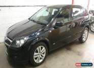 2007 VAUXHALL ASTRA SXI 1.6 BLACK 5 DOOR for Sale