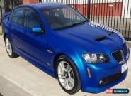 "2010 Holden Commodore ""PONTIAC"" with LOW KM! Automatic 5sp A Sedan for Sale"