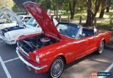 Classic 1965 Ford Mustang Convertible. RWC V8 auto   **  xw xy camaro falcon chev impala for Sale