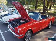 1965 Ford Mustang Convertible. RWC V8 auto   **  xw xy camaro falcon chev impala for Sale
