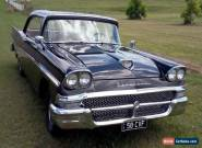 1958 Ford Fairlane Club Victoria Two Door Hard Top Interceptor Special for Sale
