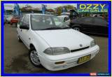Classic 1994 Suzuki Swift Cino White Manual 5sp Manual Hatchback for Sale