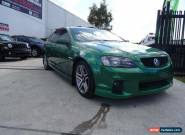 2010 Holden Commodore VE II SV6 Green Manual 6sp M Sedan for Sale