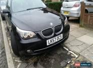 BMW 525D BLACK Auto 5 SERIES for Sale