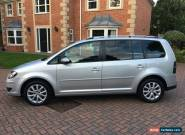 2010 10 VOLKSWAGEN TOURAN 2.0 TDI 7 SEATS, COLOUR SILVER, FACELIFT HEADLIGHT,LOV for Sale