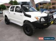 2006 Toyota Hilux KUN26R SR5 (4x4) White Manual 5sp M Dual Cab Pick-up for Sale
