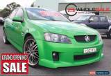 Classic 2009 Holden Commodore VE SS Green Automatic A Sedan for Sale
