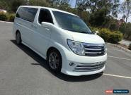 2007 Nissan Elgrand Rider S Autech White Automatic 5sp A Wagon for Sale