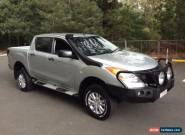 2013 Mazda BT-50 MY13 XT (4x4) Silver Automatic 6sp A Dual Cab Utility for Sale