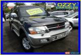 Classic 2002 Mitsubishi Pajero NM Exceed LWB (4x4) Blue Automatic 5sp A Wagon for Sale