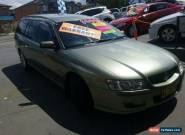 2004 Holden Commodore VZ Acclaim Green Automatic 4sp Automatic Wagon for Sale