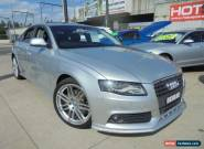 2009 Audi A4 B8 8K Silver 7 Sports Automatic Dual Clutch Sedan for Sale