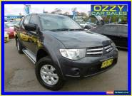 2011 Mitsubishi Triton MN MY11 GL-R (4x4) Charcoal Manual 5sp Manual for Sale