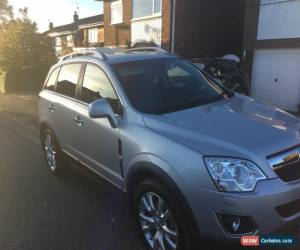 Classic 2013 VAUXHALL ANTARA SE NAV CDTI S/S 4X SILVER for Sale