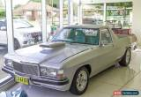 Classic 1979 Holden Holden HZ Automatic A Utility for Sale