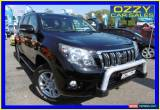 Classic 2012 Toyota Landcruiser Prado KDJ150R 11 Upgrade Kakadu (4x4) Black 5sp Wagon for Sale