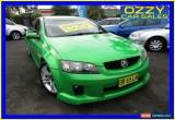 Classic 2007 Holden Commodore VE MY08 SV6 Green Manual 6sp M Sedan for Sale