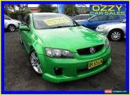 2007 Holden Commodore VE MY08 SV6 Green Manual 6sp M Sedan for Sale