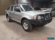 2003 Nissan Navara D22 STR 3L turbo diesel 4x4 dual cab no damage ready for rego for Sale
