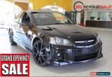 Classic 2008 Holden Commodore SSV Black Manual M Utility for Sale
