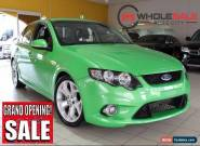 2009 Ford Falcon FG XR6 Turbo Green Manual M Sedan for Sale
