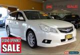 Classic 2012 Subaru Liberty E Pearl White Automatic A Wagon for Sale