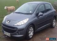 2007 PEUGEOT 207 S GREY car for Sale
