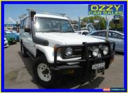 1995 Toyota Landcruiser HZJ75RV RV LWB (4x4) White Manual 5sp Manual 4x4 for Sale