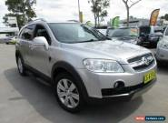 2009 Holden Captiva CG MY09 LX Silver Automatic 5sp A Wagon for Sale