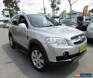 Classic 2009 Holden Captiva CG MY09 LX Silver Automatic 5sp A Wagon for Sale