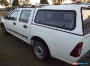 2007 Holden Rodeo LX Crew Cab ute diesal with roof racks, Canpoy and tow bar for Sale
