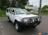 2008 Nissan Navara D22 MY2008 ST-R White Manual 5sp M 4D UTILITY for Sale