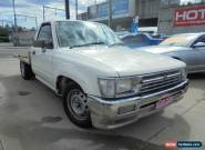 1992 Toyota Hilux White Manual 5sp Manual 2DR UTILITY for Sale