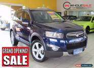 2011 Holden Captiva CG Series II 7 LX Blue Automatic A Wagon for Sale