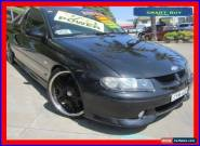 2001 Holden Commodore Vuii SS Black Automatic 4sp A Utility for Sale