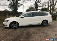 2012 VOLKSWAGEN PASSAT SPORT ESTATE 2.0 TDI 170 BLUEMOTION. WHITE. FULL HISTORY for Sale