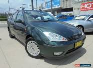2004 Ford Focus LR MY2003 CL Green Automatic 4sp A Sedan for Sale