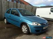 2004 VAUXHALL CORSA LIFE TWINPORT BLUE for Sale