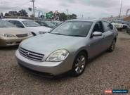 2004 Nissan Maxima J31 TI Silver Automatic 4sp Automatic Sedan for Sale