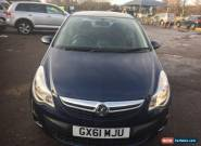 2011 VAUXHALL CORSA EXCITE AC BLUE for Sale