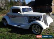 1934 Ford 3-Window Coupe for Sale