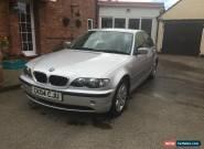 2004 BMW 316 I SE SILVER E46 for Sale